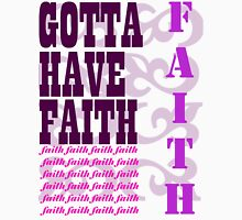 have faith Womens Fitted T-Shirt