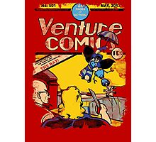 Venture Comics: The Bat (first appearance) Photographic Print
