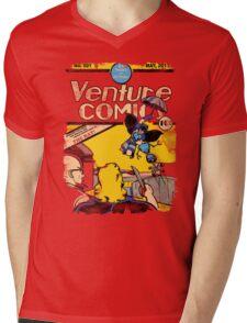 Venture Comics: The Bat (first appearance) Mens V-Neck T-Shirt