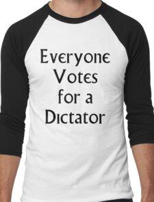 The Prisoner - Everyone Votes For a Dictator Men's Baseball ¾ T-Shirt