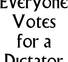 The Prisoner - Everyone Votes For a Dictator by fearandclothing