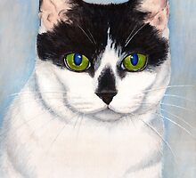Cleo (Card version) by Lisa Marie Robinson