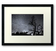 Celestial Stellar Dark Universe Framed Print