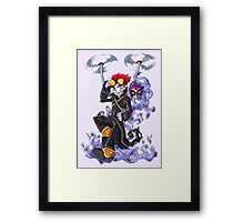 Evil Boy Genius Framed Print
