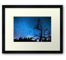 Celestial Stellar Universe Framed Print