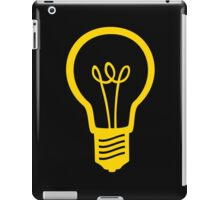 Attention Lightbulb iPad Case/Skin