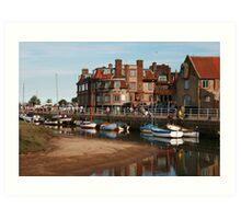 Blakeney Quay North Norfolk Art Print