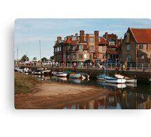 Blakeney Quay North Norfolk Canvas Print