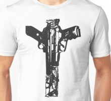 point blank_mono Unisex T-Shirt