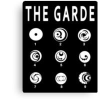 Lorien Legacies - All the Garde Canvas Print