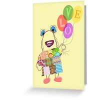 Betty's Balloons Greeting Card