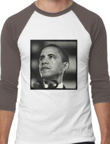 Obama Vintage Men's Baseball ¾ T-Shirt