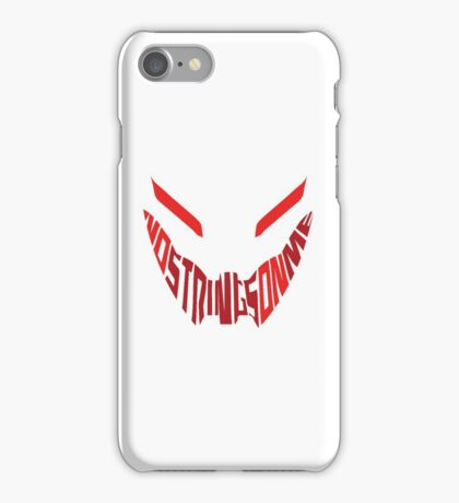 No Strings on Me iPhone Case/Skin