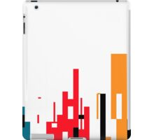Skyline, Generative Art, Data Visualisation iPad Case/Skin