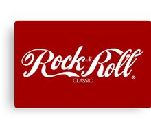 Sex, Coke, Rock & Roll Canvas Print