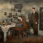 Steampunk - The wireless apparatus - 1905 by Mike  Savad