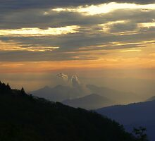 Great Smoky Sunrise by JKKimball
