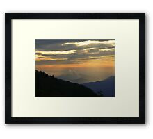 Great Smoky Sunrise Framed Print