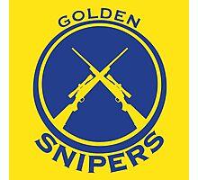 Golden Snipers (Guns) Photographic Print