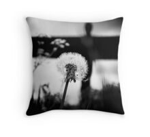 An angels wish Throw Pillow