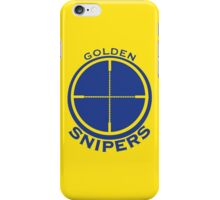 Golden Snipers (Crosshairs) iPhone Case/Skin