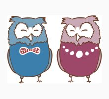 Couple of owls Kids Clothes