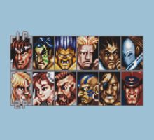 World Warriors One Piece - Short Sleeve