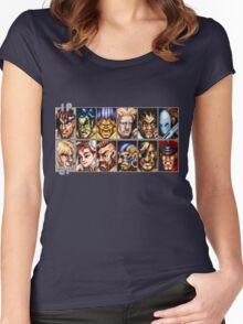 World Warriors Women's Fitted Scoop T-Shirt