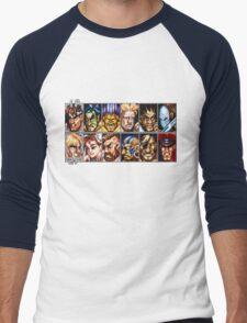 World Warriors Men's Baseball ¾ T-Shirt
