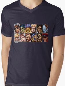 World Warriors Mens V-Neck T-Shirt