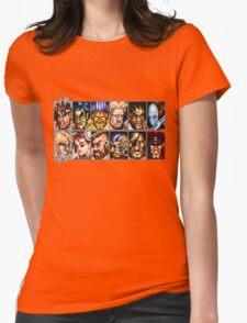 World Warriors Womens Fitted T-Shirt