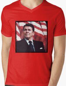 Reagan Vintage Mens V-Neck T-Shirt