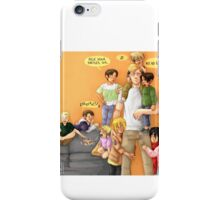 The kids are alright iPhone Case/Skin
