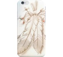 feathers and arrows. iPhone Case/Skin