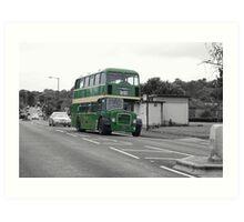 SC Bus Art Print