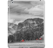 Colorado Western Landscape Red Barns iPad Case/Skin