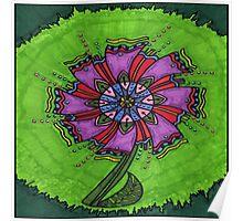 Flower Green Poster