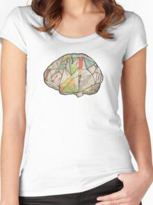 GeoBrain Women's Fitted Scoop T-Shirt