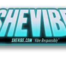 SheVibe Logo Tron Style by shevibe