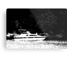 Crusin' on the Lake Metal Print