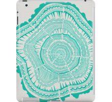 Turquoise Tree Rings iPad Case/Skin