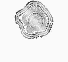 Silver Tree Rings Unisex T-Shirt