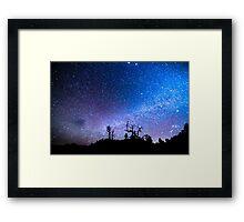 Cosmic Kind Of Night Framed Print