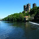 Durham Cathedral and River by Mark Willson