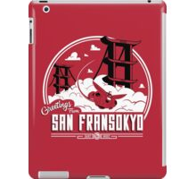 Greetings from San Fransokyo iPad Case/Skin