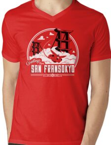 Greetings from San Fransokyo Mens V-Neck T-Shirt