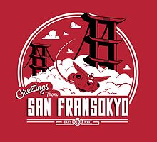 Greetings from San Fransokyo by owlhaus
