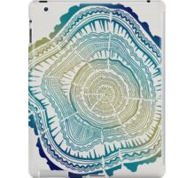 Tree Rings – Watercolor Ombre iPad Case/Skin
