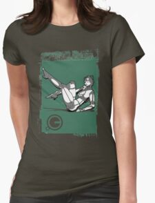 CyberGirl Womens Fitted T-Shirt