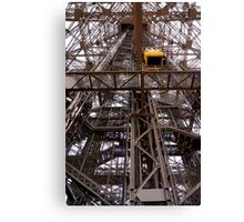 Elevator going up! Canvas Print